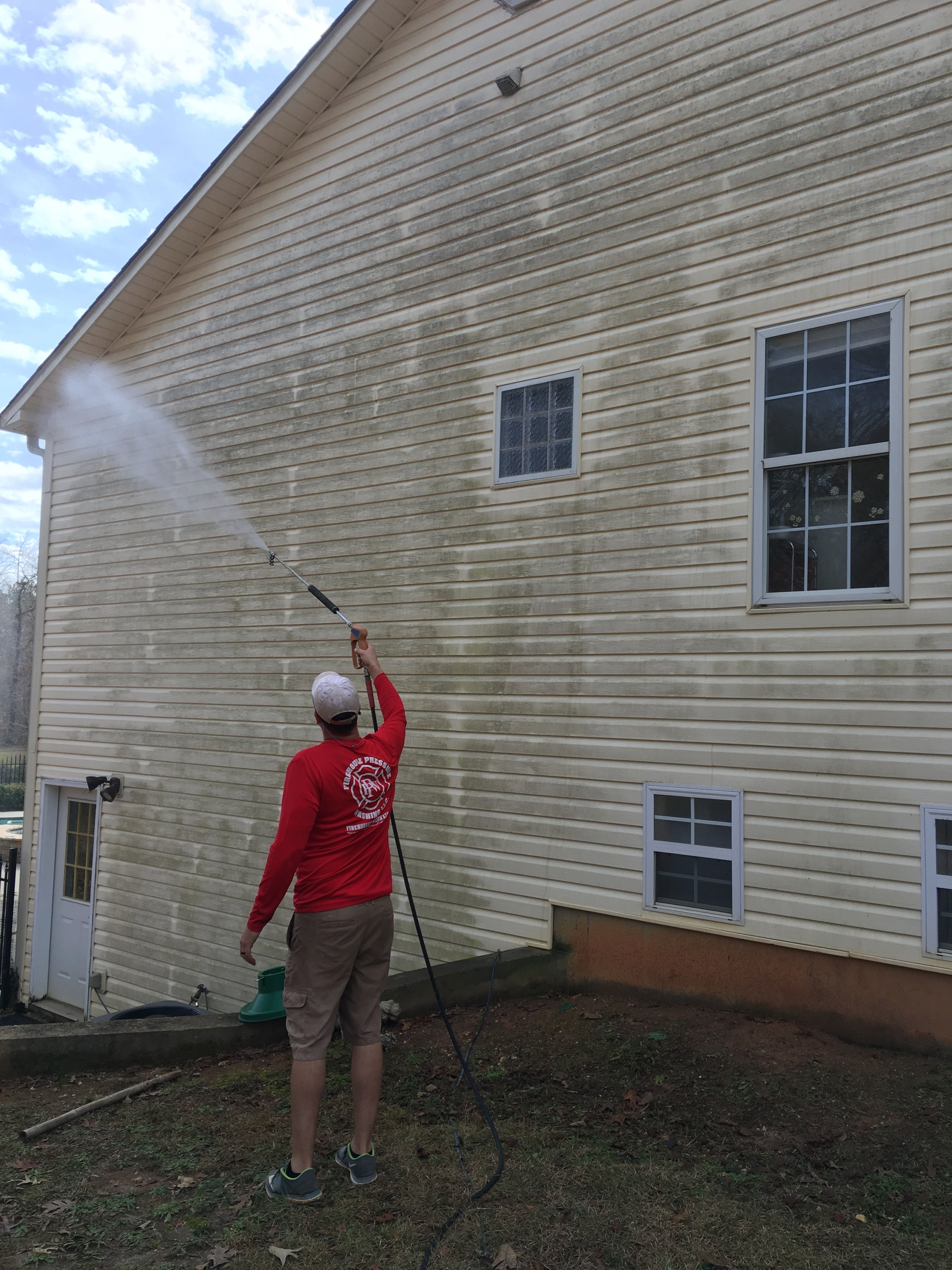 The art of Exterior Cleaning